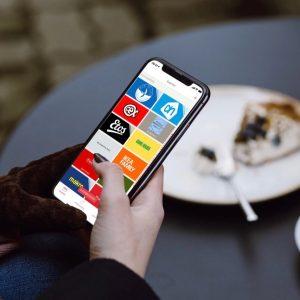 Winkelen met apps